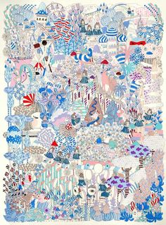 The Story I Tell — Yoko Furusho Illustration Photography Illustration, Love Illustration, Space Drawings, New Media Art, Muse Art, Art Thou, Korean Art, Illustrations, Art Auction