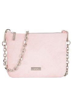 Lily Baby Pink Leather Pouch Handbag