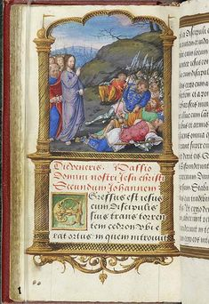 Book of Hours, MS M.696 fol. 107v - Images from Medieval and Renaissance Manuscripts - The Morgan Library & Museum