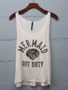 PREORDER - mermaid off duty