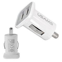 Innovativ: Dual USB Anschluß mit doppelt so schneller Ladegeschwindigkeit wie herkömmliche Kfz Ladegeräte    https://zaluxis.de/shop/de/handy-zubehoer/60-dual-usb-auto-ladegeraet-3100mah-car-charger-fuer-apple-und-android-weiss.html