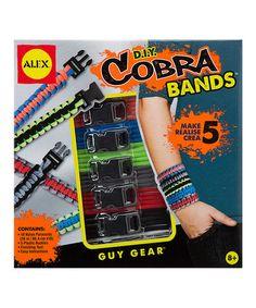 Look at this #zulilyfind! D.I.Y. Cobra Bands Kit #zulilyfinds