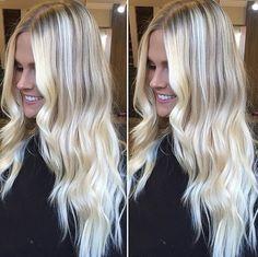 Platinum Blonde Hair Color, Real Hair Wigs, Hair Flow, Bright Blonde, Hair 2018, Great Hair, Balayage Hair, Blondes, Hair Colors
