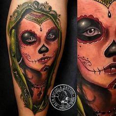 Javi Metetintas en la 3ª Málaga Tattoo Convention, artista de Alta Escuela Tattoo Málaga