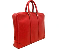 """The Turnabout Shoppe Louis Vuitton """"Porte-Documents Voyage"""" Briefcase"""