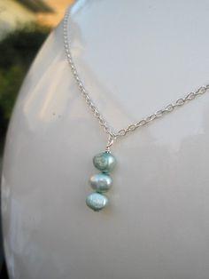 A Trio of Pearls Necklace