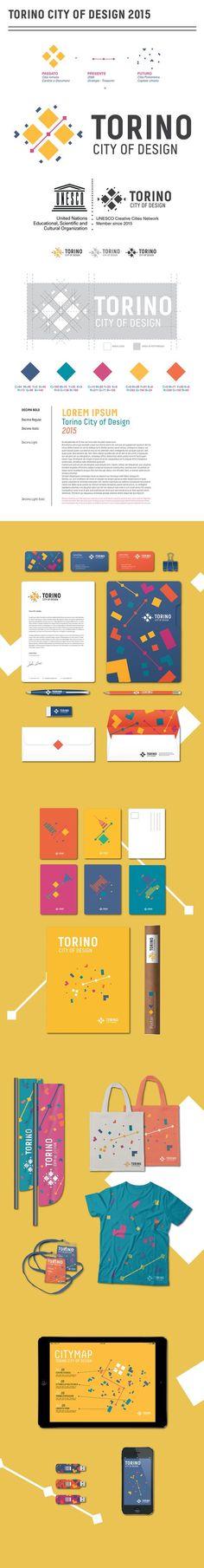 Torino City of Design 2015 Branding by Francesca Pagliaro | Fivestar Branding – Design and Branding Agency & Inspiration Gallery