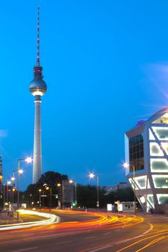 'Berlin TV Tower (HDR)' by Bianca Baker on artflakes.com as poster or art print $18.03