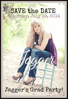 Jagger's SAVE THE DATE