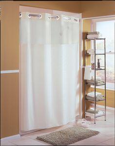 Snap-Lock Carnation Plastic Shower Curtain Ring Navy Set of 12