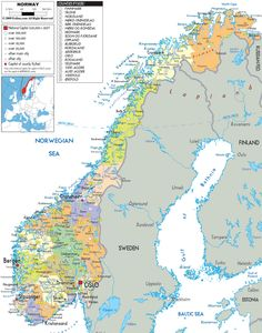 Fortinbras Was The Prince Of Norway Fortinbras Period - Norway lakes map