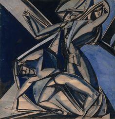 New Rhythms by Henri Gaudier-Brzeska Painting Print Big Box Art French Impressionist Painters, Impressionist Artists, Frames On Wall, Framed Wall Art, Painting Frames, Painting Prints, Wyndham Lewis, Modernist Movement, Canvas Art
