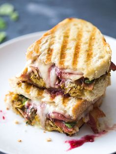 Loaded Turkey Panini (For Thanksgiving Leftovers) Recipe - RecipeChart.com