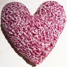 Heart Pillow, Beautiful Patterns, A5, Cushion, Pillows, Create, Crochet, Blog, Handmade
