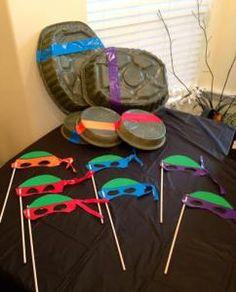 DIY - TMNT Birthday Party - jello cups,