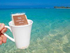 Tea time / Conquer! www.hobbstea.com #hawaii #tea #resort #spa #paradise #organic #cleanse #ocean #tropical #beach