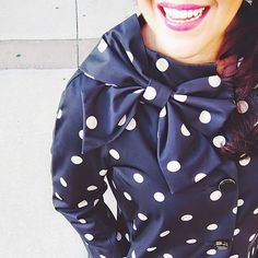 Outfit: A Well Placed Bow Kate Spade Dorothy Coat