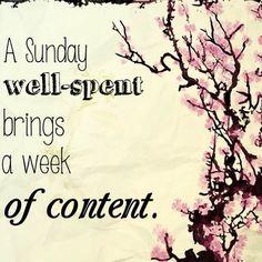 I wish you a wonderful Sunday #sunday #inspiration
