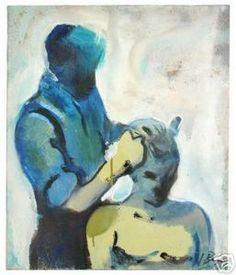 Ignacio Burgos - Peluquero - Original Signed Painting