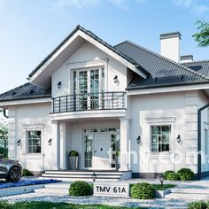 Bbq Shed, Two Storey House Plans, House Architecture Styles, Bungalow House Plans, Luxury Homes Dream Houses, Dream House Exterior, Traditional House, Exterior Design, House Design