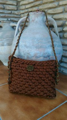 Bolso de trapillo by Crochet o ganchillo