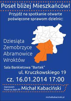 Poseł bliżej mieszkańców (Poster)