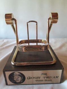 1980 39th Bing Crosby Pro-Am Golf Tournament Pebble Beach California (Dispenser Swing)