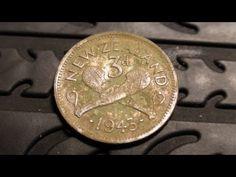 Metal Detecting Silver In My Backyard - YouTube