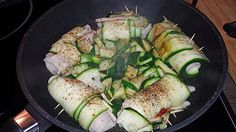 Zucchini - Putenbrust - Röllchen mit Feta (Rezept mit Bild) | Chefkoch.de