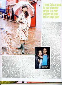 Amelia Warner was the cover ofES Magazine Pictorial in 2004! Check out the scans.