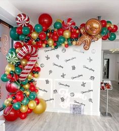 Christmas Balloons, Christmas Party Decorations, Xmas Party, Kids Christmas, Holiday Parties, Christmas Crafts, Christmas Birthday, Merry Christmas, Balloon Decorations Party