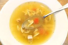 Chicken soup. WOW!