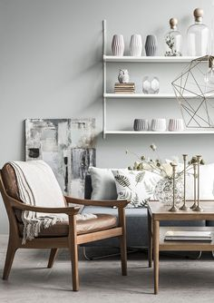 SIMPLE - Nordic simplicity, with a modern twist Nordic Design, Home Interior Design, Interior Inspiration, Wood Projects, Dining Bench, Accent Chairs, Simple, Modern, Ss16