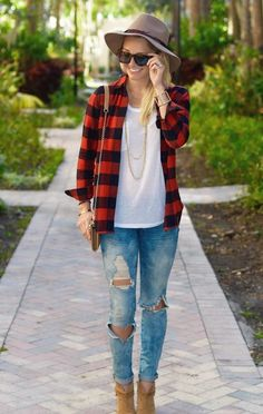 3d9021b064e New ways to wear your flannel this fall