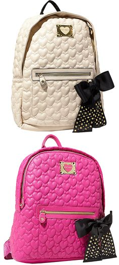 Betsey Johnson bags are life Cute Handbags, Purses And Handbags, Fashion Bags, Fashion Backpack, Mini Mochila, Betsey Johnson Purses, Cute Backpacks, Backpack Purse, Chic Backpack