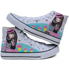 Summer Love Korean graffiti shoes -