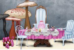 table a thé