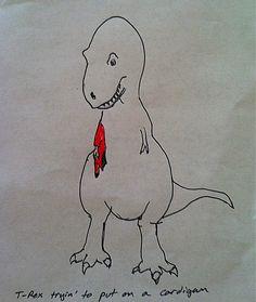 The T-Rex & The Cardigan