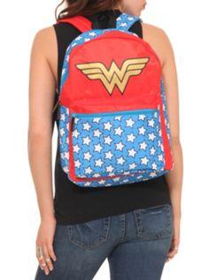 DC Comics Wonder Woman Cape Backpack