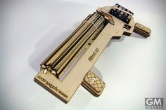 最強のRubber Band Machine Gunがエグい 弾丸はもっとエグい!