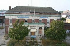 Abandoned Police Station Is Actually In Michigan, Not Mogadishu (20 Photos)
