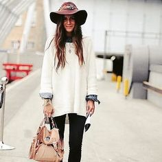 What's the right way to wear an oversized sweater? I gotcha covered. New blog…