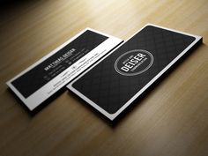 Check out Black And White Business Card by Marvel on Creative Market