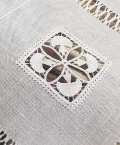 Drawn Thread, Thread Work, Table Linens, Doilies, Stitches, Kids Rugs, Couture, Embroidery, Linens