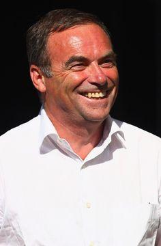 Five times Tour de France winner Bernard Hinault of France