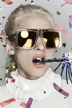 Fashion's Favorite Cult Sunglasses Line Got Even Cooler #refinery29 http://www.refinery29.com/2014/10/75915/karen-walker-celebrate-anniversary-collection#slide-3