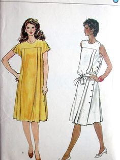 Vogue Dress Pattern No 8251 Vintage 1980s Size by CaliforniaSunset, $8.00