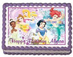 Disney Princess Edible Frosting Sheet Cake Topper - 1/4 Sheet Lisa's Gifts http://www.amazon.com/dp/B00GOGP04A/ref=cm_sw_r_pi_dp_MjLPtb0W5KVP1AFB