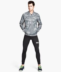 Kick Off the New Year with H&M Sport–H&M regulars Sean O'Pry and Mathias Lauridsen are enlisted to show off the latest arrivals from the Swedish retailer's