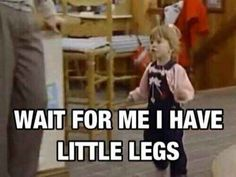 Always being the last to get anywhere.   30 Awkward Moments Every Short Girl Understands